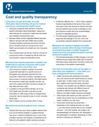 cost and quality transparency