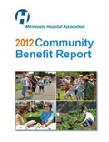graphic of community benefit report