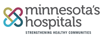 Minnesota's Hospitals: Strengthening Healthy Communities logo image