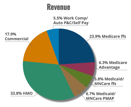 the effect of revenue sources on financial reporting at the hospital The number of patients, their insurance sources, the types of services a hospital offers and the frequency of use of different services are just a few factors that affect hospital revenues and.