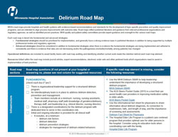 delirium road map