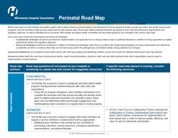 perinatal road map