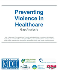 preventing violence in healthcare gap analysis
