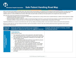 safe patient handling road map