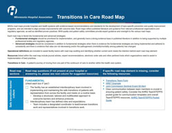 transitions in care road map